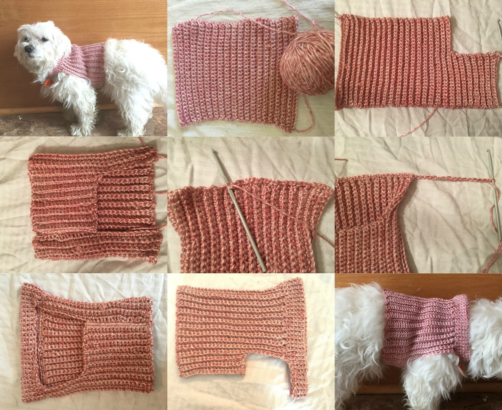 Easy Knitting Pattern For Dog Coat Knitting Patterns For Min Pin Dog Sweaters
