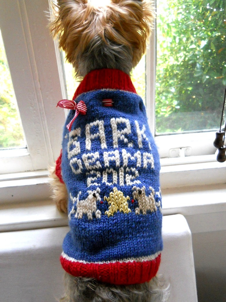 Easy Knitting Pattern For Dog Coat Puppy My Savannah Cottage