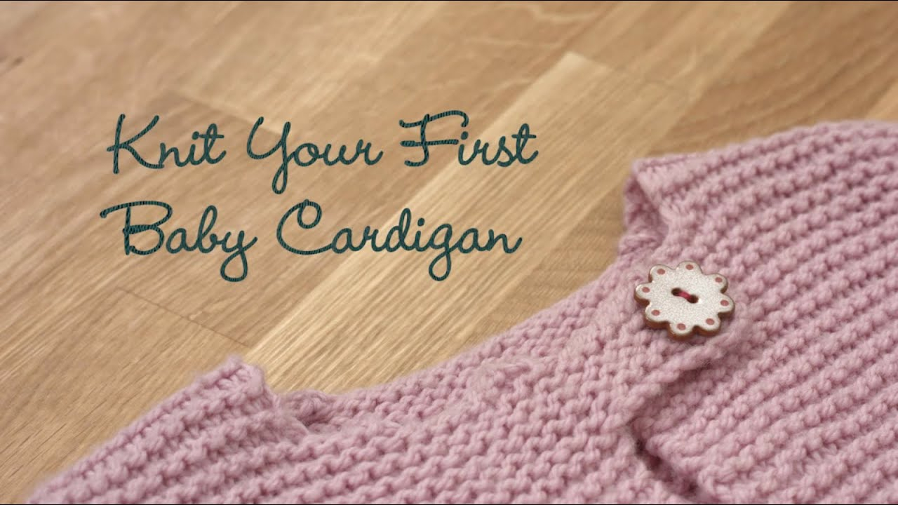 Free Baby Knitting Patterns 8 Ply Knit Your First Ba Cardigan Preview