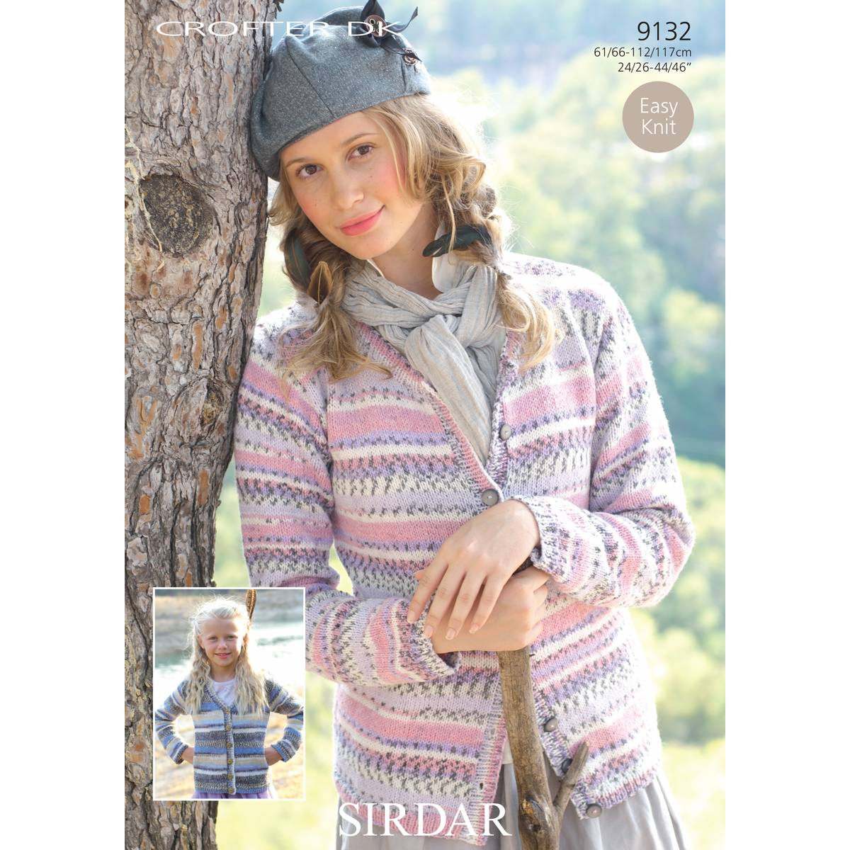 Free Baby Knitting Patterns Double Knit Free Pattern Knit Sirdar Crofter Dk Ladies Cardigans Hobcraft