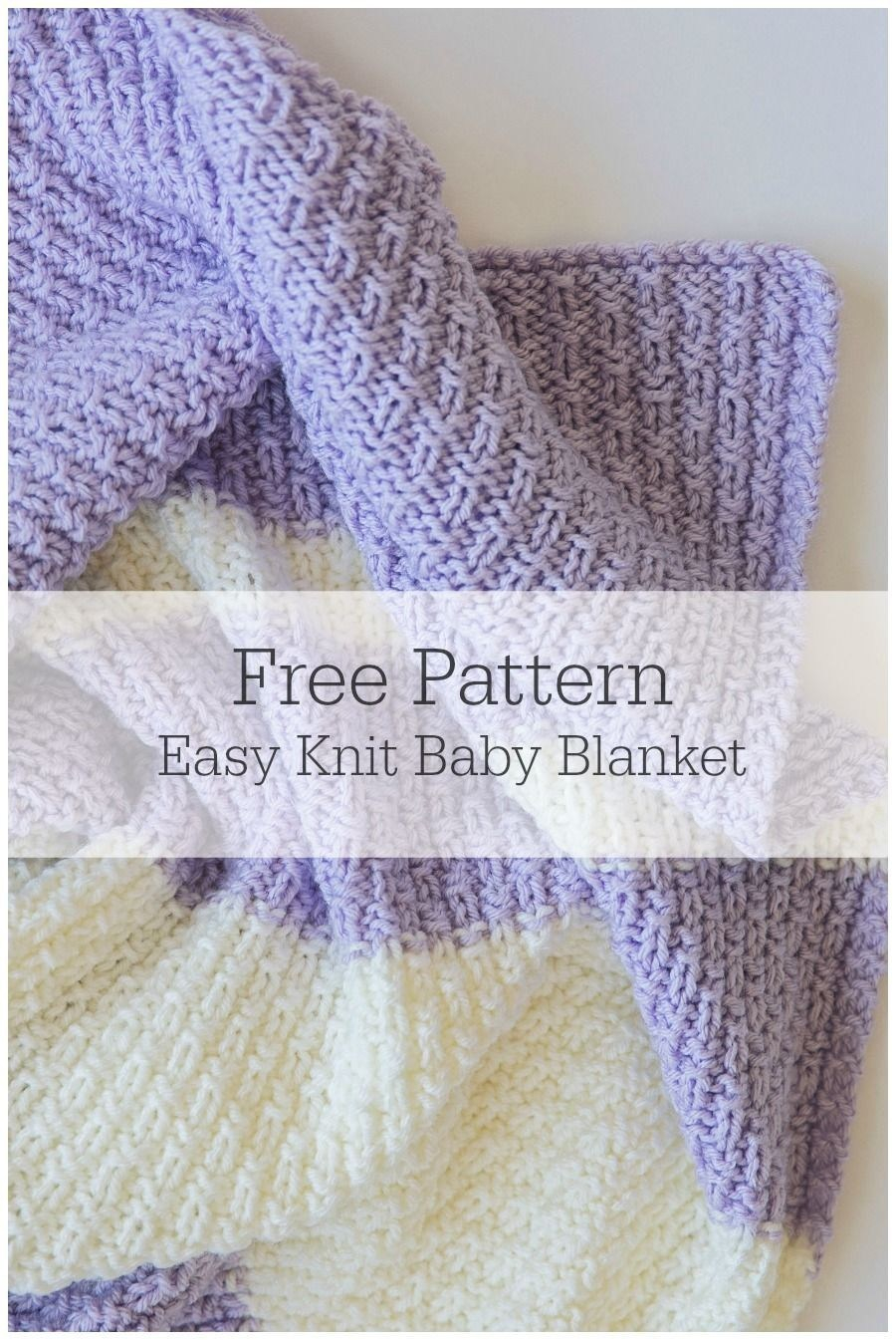 Free Baby Knitting Patterns Pinterest Ba Blankets Patterns Knit Easy Blanket Pattern Pinterest Knitting