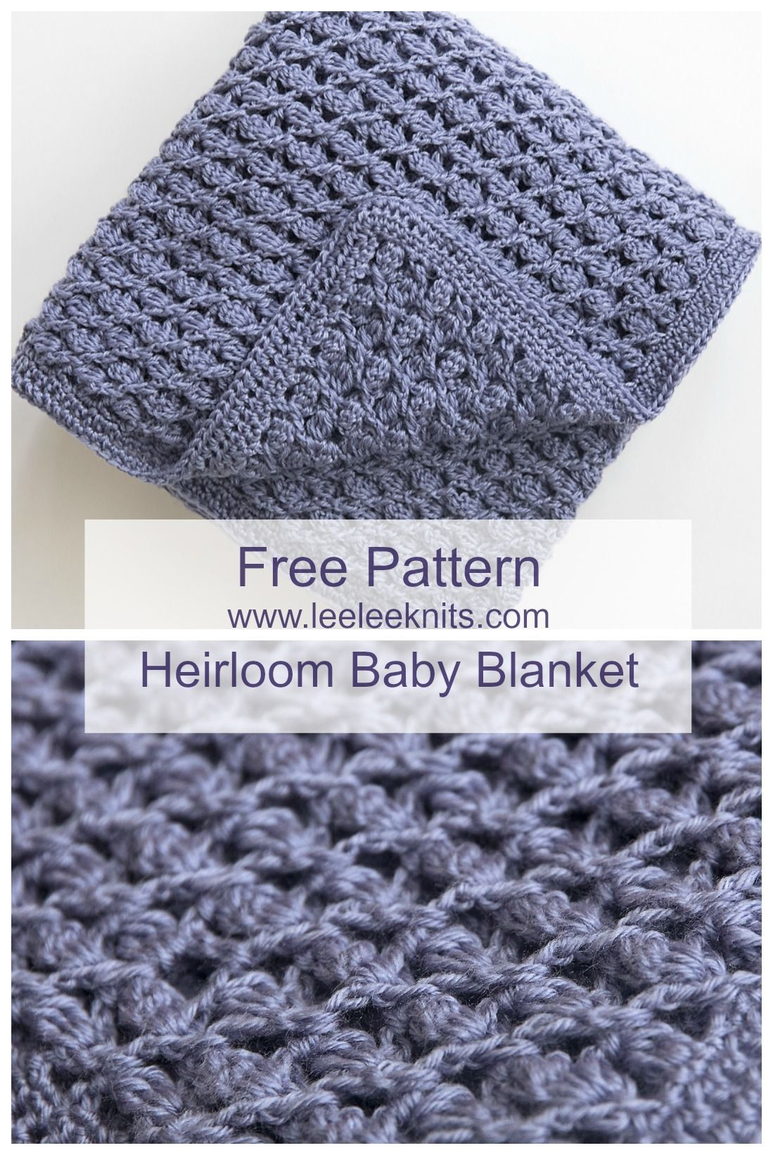 Free Baby Knitting Patterns Pinterest Crochet Patterns For Ba Blankets Free Heirloom Ba Blanket Crochet