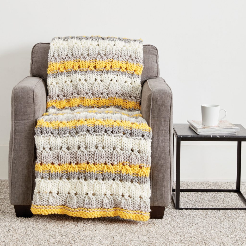 Free Bulky Knitting Patterns Free Knitting Pattern For A Patchwork Blanket
