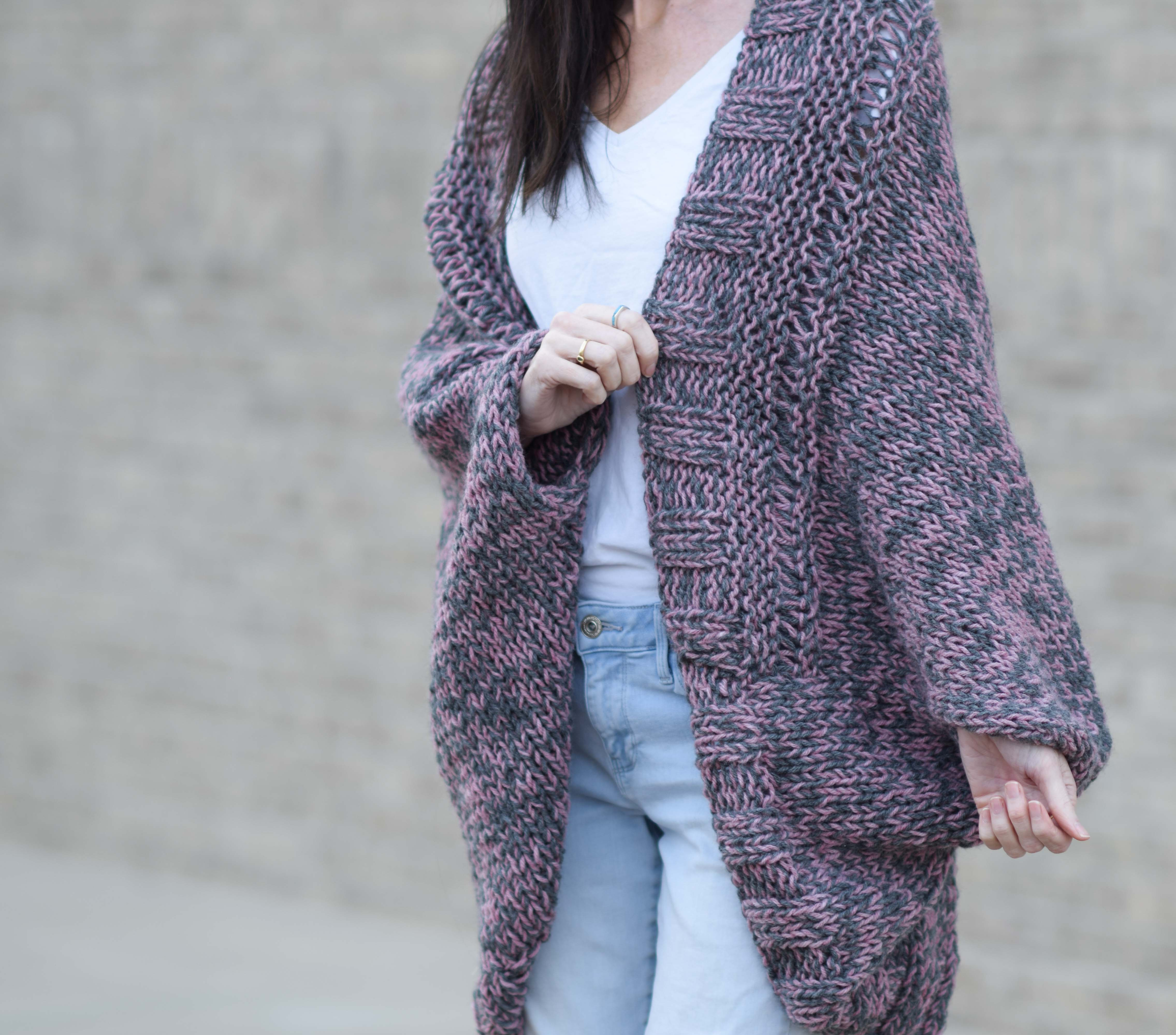 Free Cardigan Knitting Pattern Easy Relaxed Marled Cardigan Knitting Pattern Mama In A Stitch