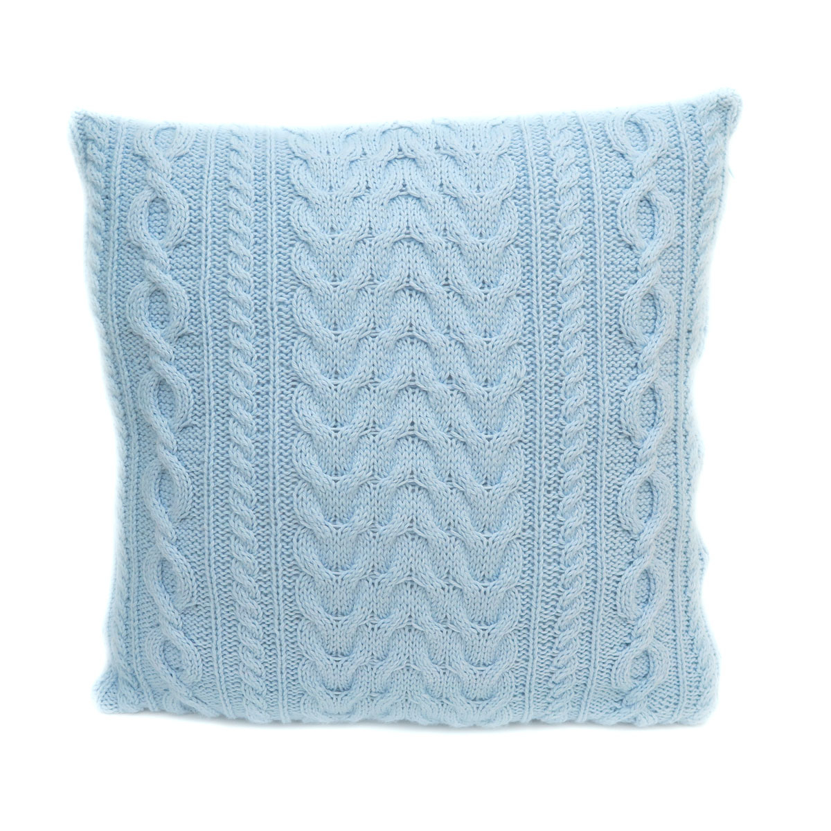 Free Cushion Cover Knitting Pattern Cozy Cable Cushion