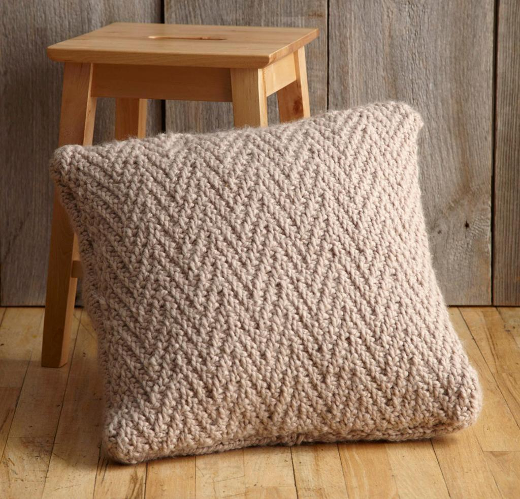 Free Cushion Cover Knitting Pattern Herringbone Stitch 7 Tips Plus A Free Pattern Tutorial