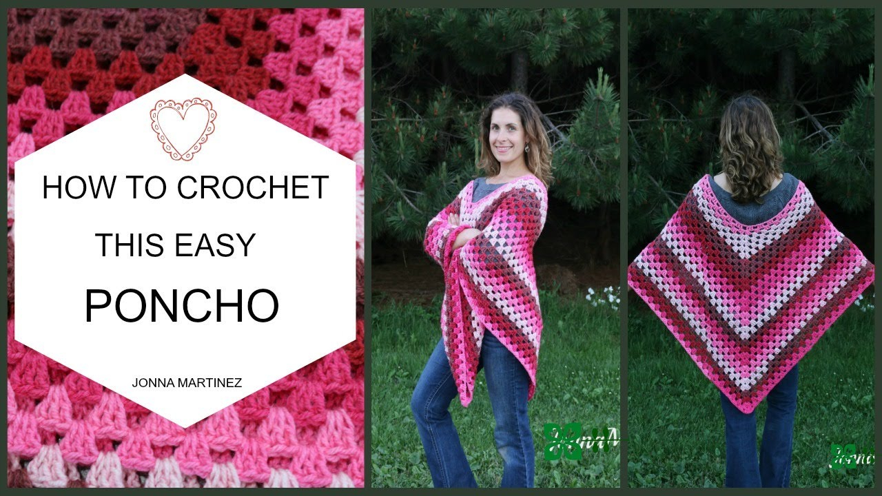 Free Easy Baby Poncho Knitting Pattern How To Crochet This Easy Poncho