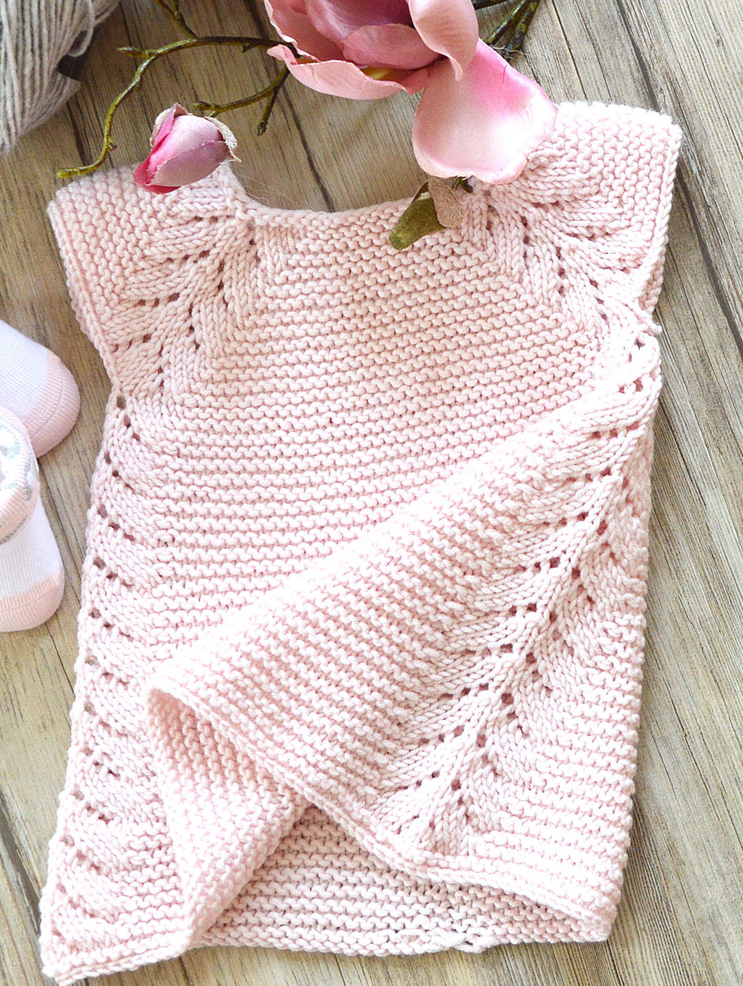 Free Easy Baby Poncho Knitting Pattern Knitting Patterns Free For Babies
