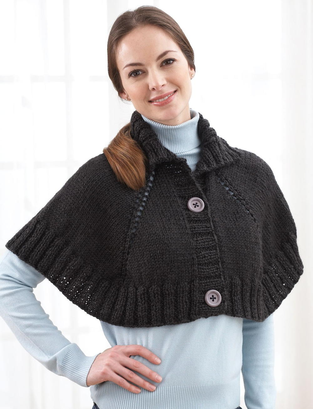 Free Easy Baby Poncho Knitting Pattern Style Your Knit Poncho Crochet And Knitting Patterns 2019