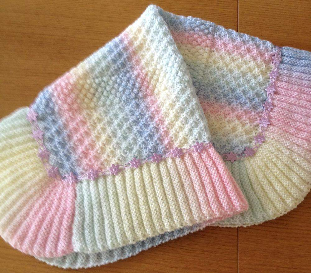 Free Easy Knitting Patterns For Baby Blankets Beautiful Easy And Free Simply Beautiful Ba Blankets To Knit Easy