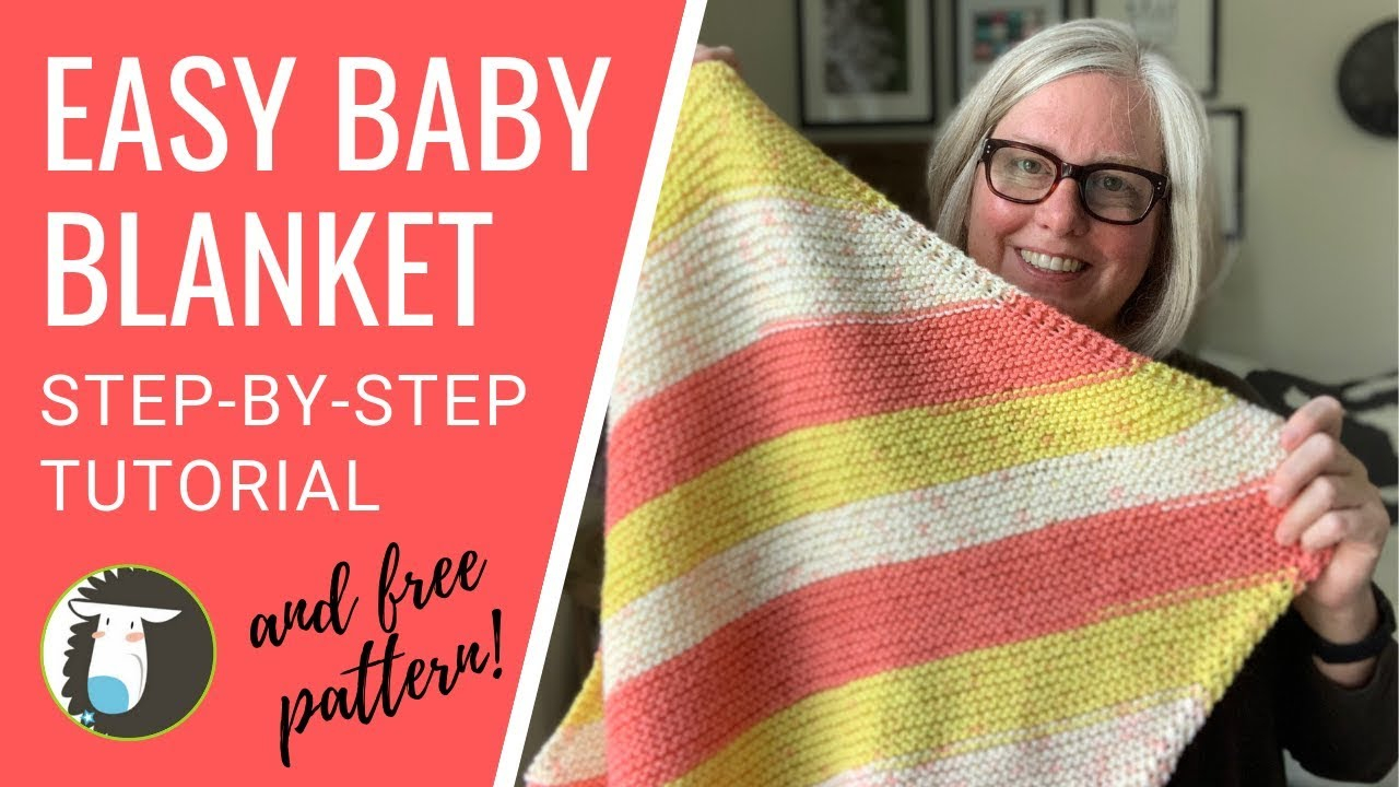 Free Easy Knitting Patterns For Baby Blankets Easy Ba Blanket Knitting Pattern For Beginners Step Step Tutorial