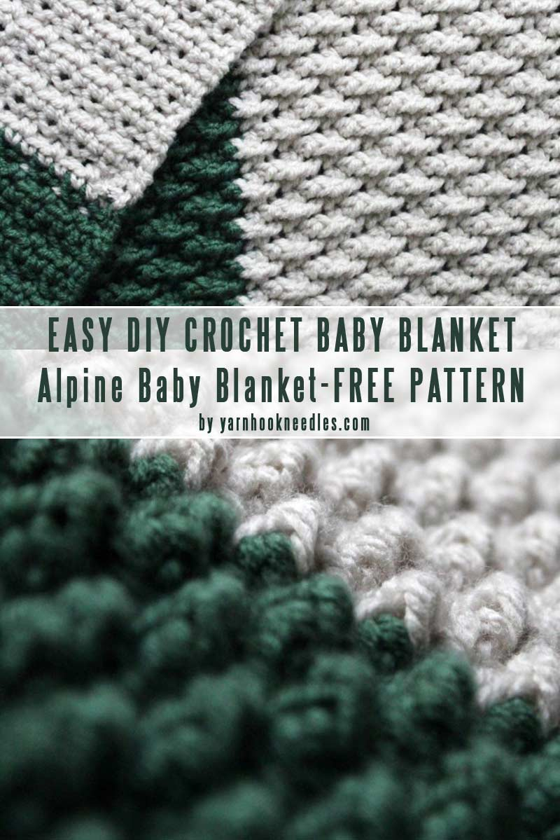 Free Easy Knitting Patterns For Baby Blankets Easy Diy Ba Blankets You Can Crochet In A Weekend Craft Mart