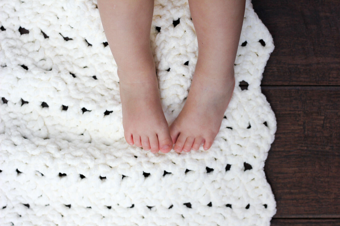 Free Easy Knitting Patterns For Baby Blankets Free Easy Crochet Ba Blanket Free Pattern Make Do Crew