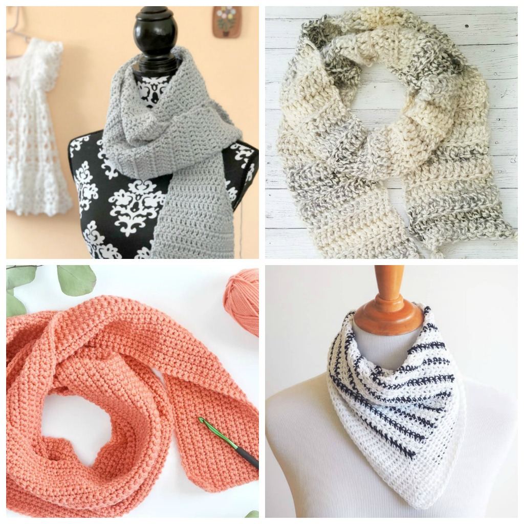 Free Easy Knitting Scarf Patterns For Beginners 17 Easy Crochet Scarf Patterns Simply Collectible Crochet