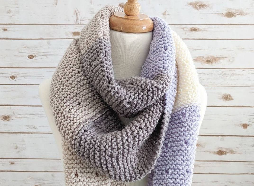 Free Easy Knitting Scarf Patterns For Beginners Better Homes And Gardens Scarf Knitting Patterns