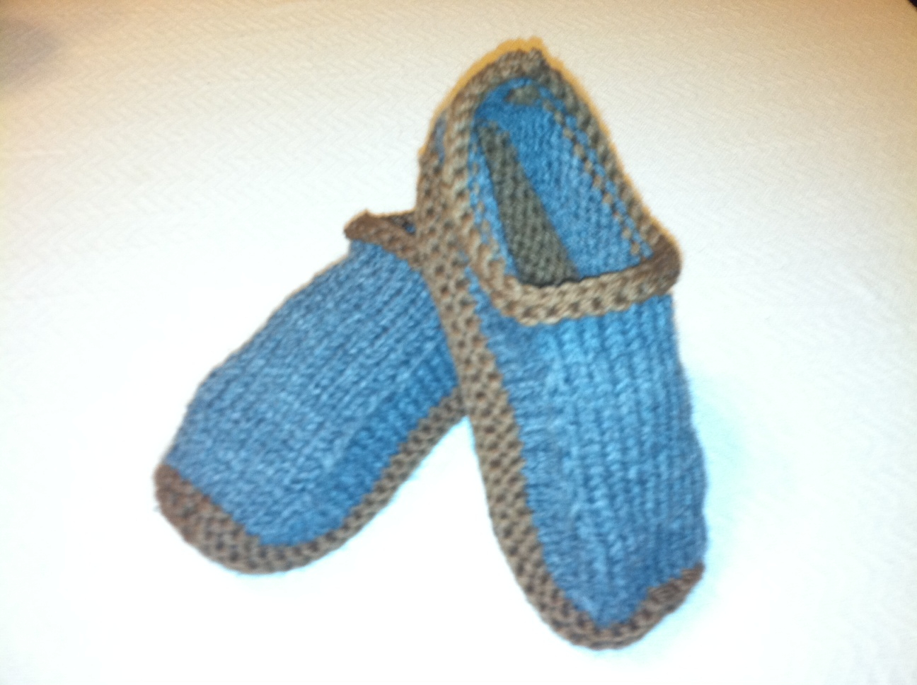 Free Knit Slipper Pattern Free Knitting Patterns Autumnblossomknits