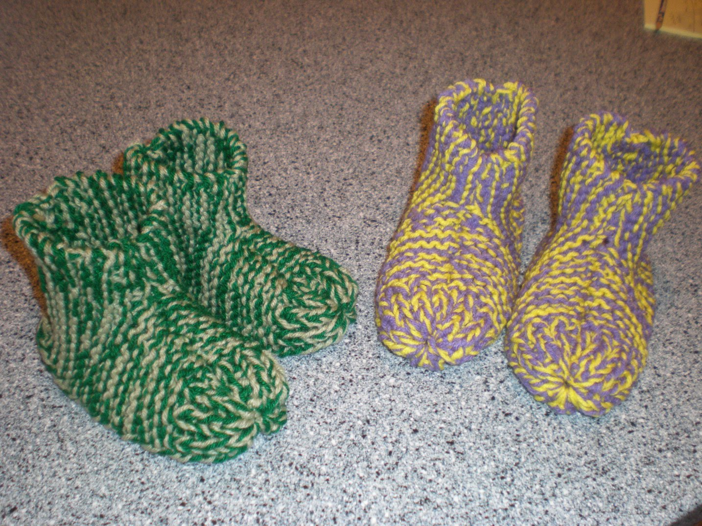 Free Knit Slipper Pattern Knitting Slippers Patterns Free Knitting Patterns