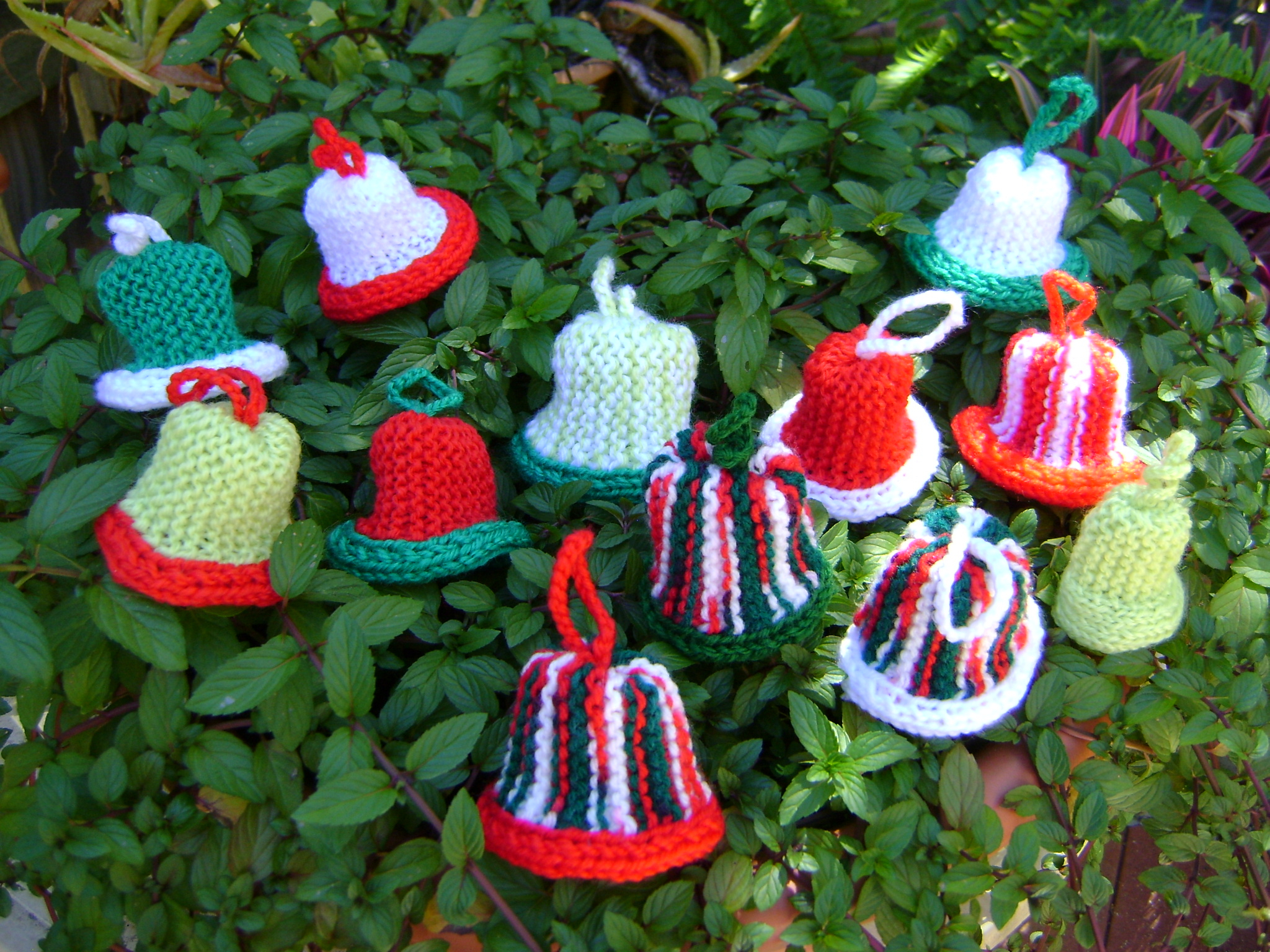 Free Knitted Christmas Tree Decorations Patterns Free Christmas Decoration Knitting Patterns Melsnattyknits
