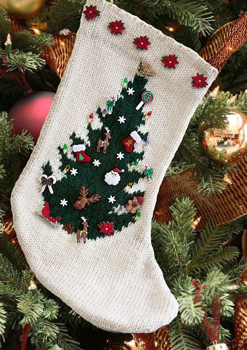 Free Knitted Christmas Tree Decorations Patterns Holiday Decor Knitting Patterns In The Loop Knitting