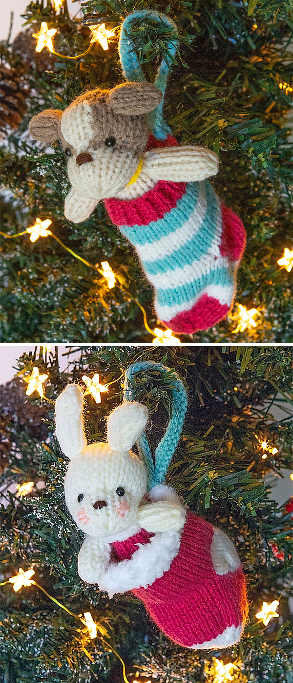Free Knitted Christmas Tree Decorations Patterns Holiday Ornament Knitting Patterns In The Loop Knitting