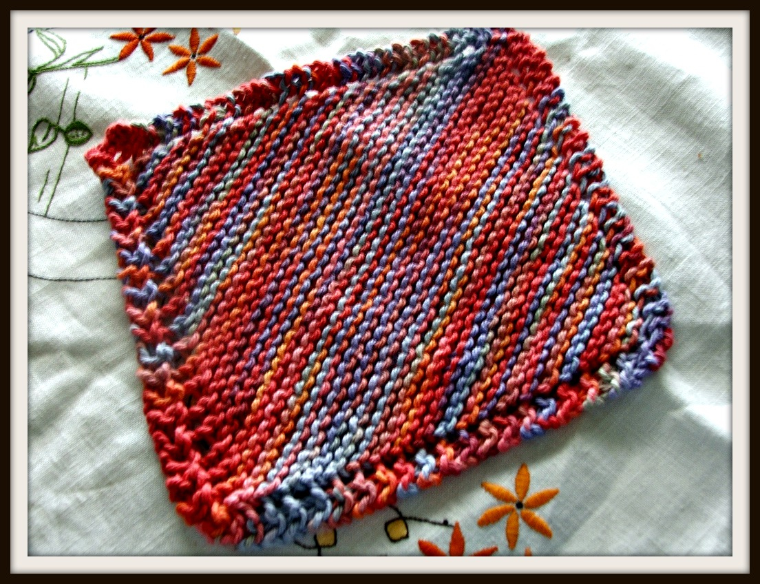 Free Knitted Cotton Dishcloth Patterns How To Knit A Dishcloth A Step Step Tutorial With Pattern Included