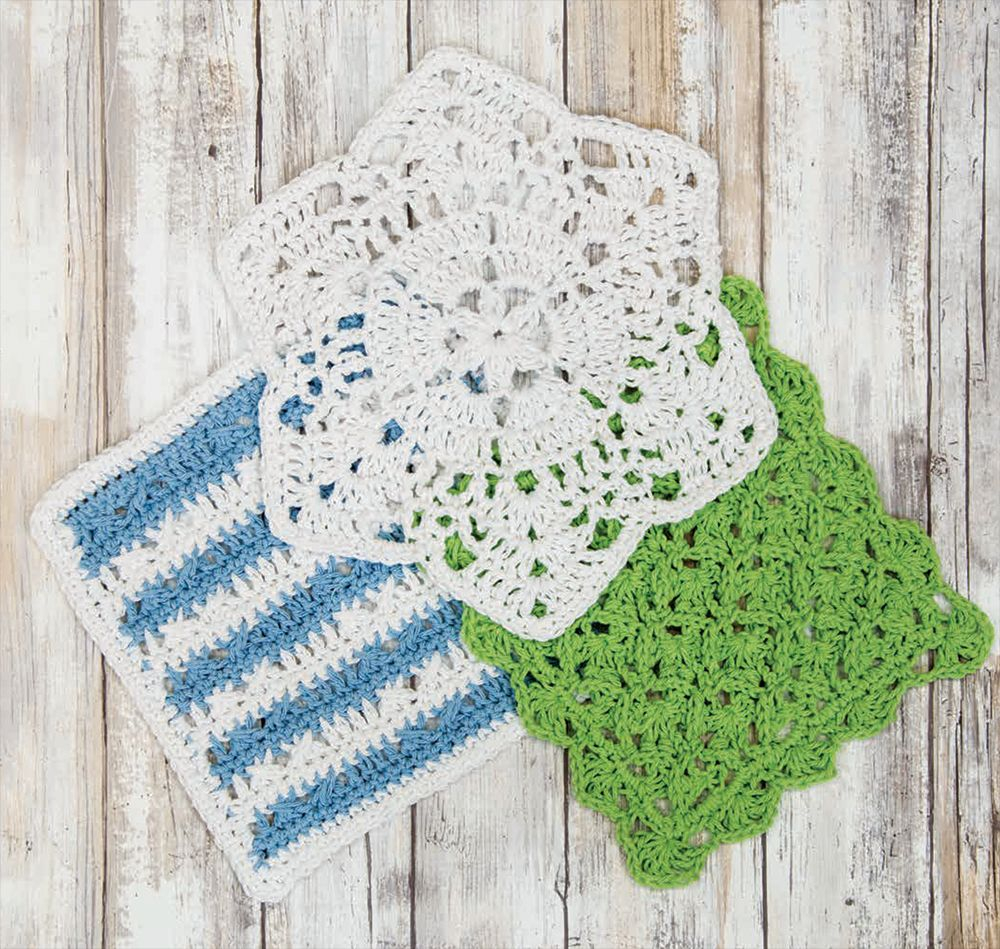 Free Knitted Cotton Dishcloth Patterns Mary Maxim Free Crochet Dishcloth Pattern