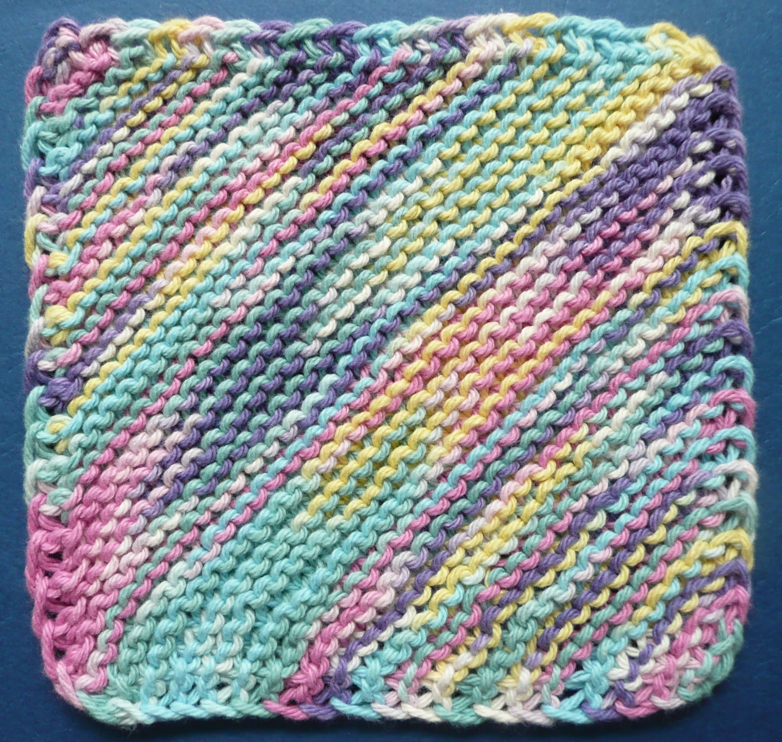 Free Knitted Cotton Dishcloth Patterns Perfect One Ounce Dishcloth Free Patterns