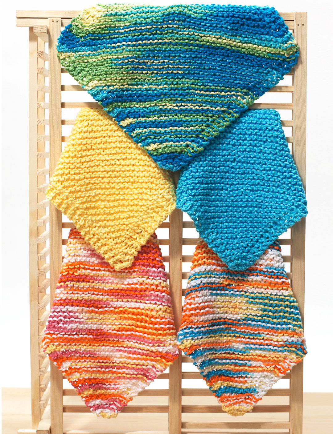 Free Knitted Dishcloth Pattern Easy Knit Dishcloth Pattern Diagonal Knit Dishcloth For Beginners