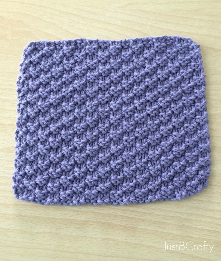Free Knitted Dishcloth Pattern New Free Pattern Textured Knit Dishcloth Pattern Just Be Crafty