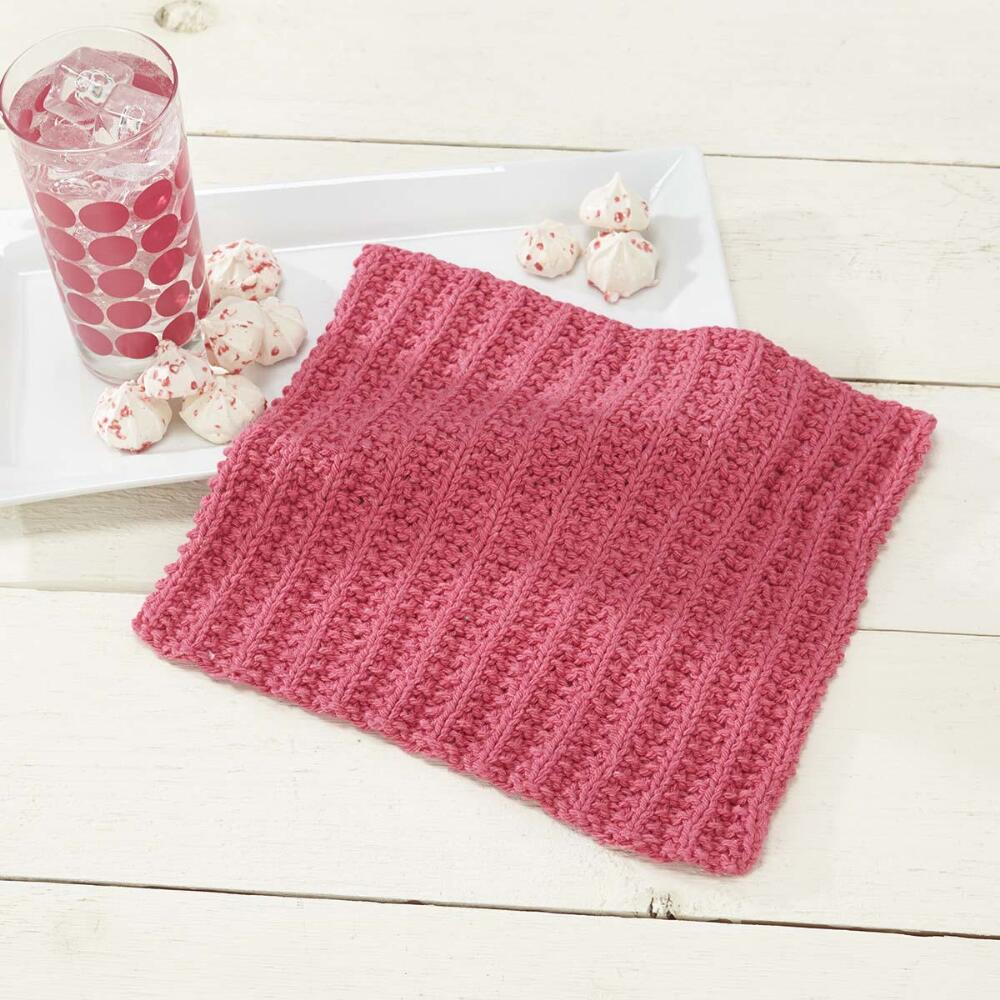Free Knitted Dishcloth Pattern Simple Knit Sorbet Dishcloth Free Knitting Pattern