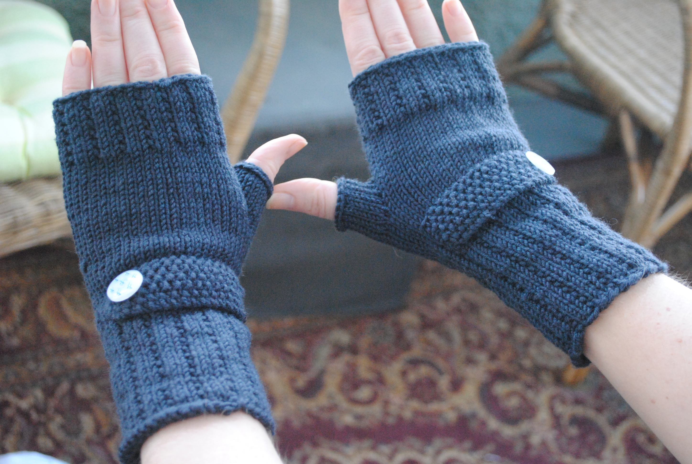 Free Knitted Glove Patterns Free Optimistic Mitt Pattern For Makings Sake