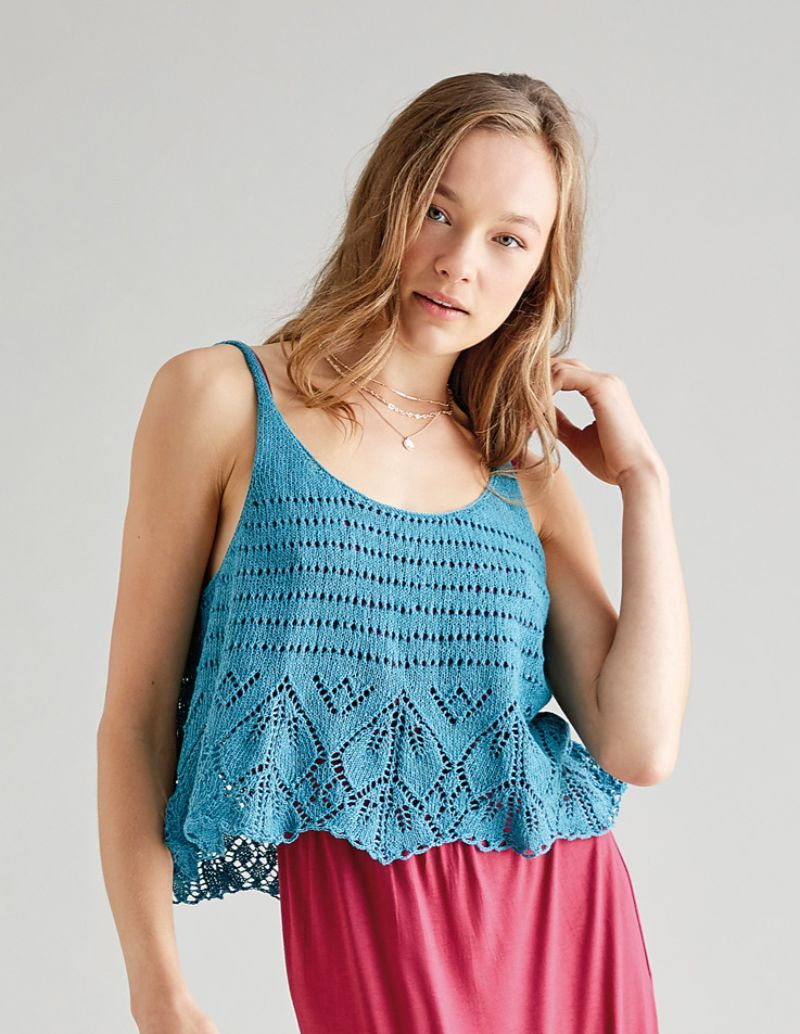 Free Knitted Top Patterns Knitted Tops For Summer Free Patterns Free Crochet Patterns