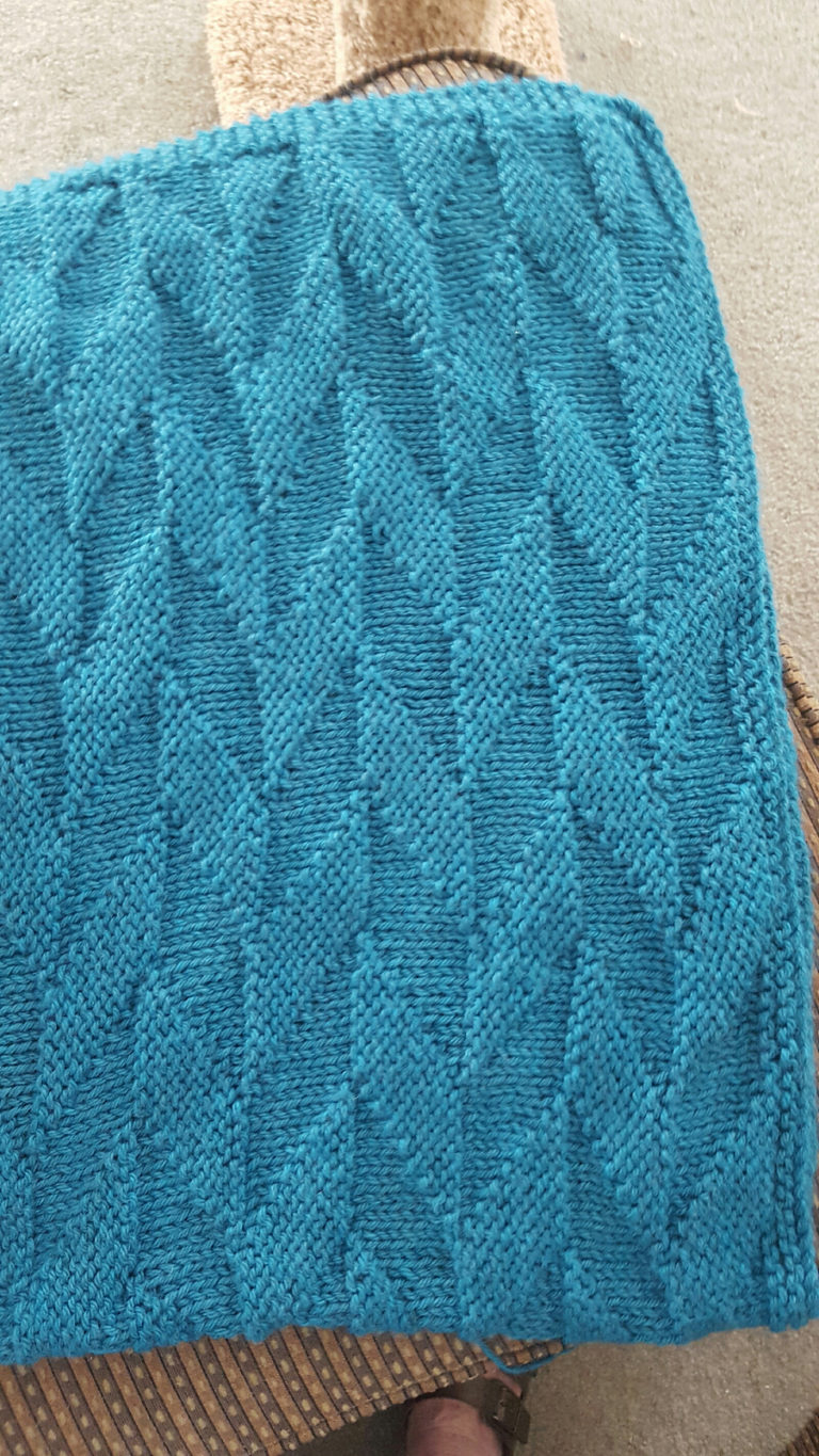 Free Knitting Afghan Patterns For Beginners Easy Afghan Knitting Pattterns In The Loop Knitting