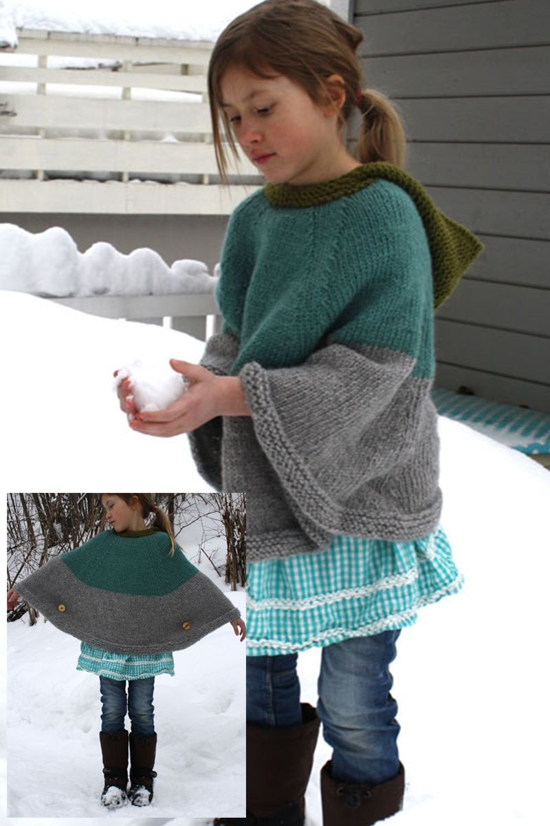 Free Knitting Pattern For A Poncho Free Knitting Patterns For Ponchos For Teen
