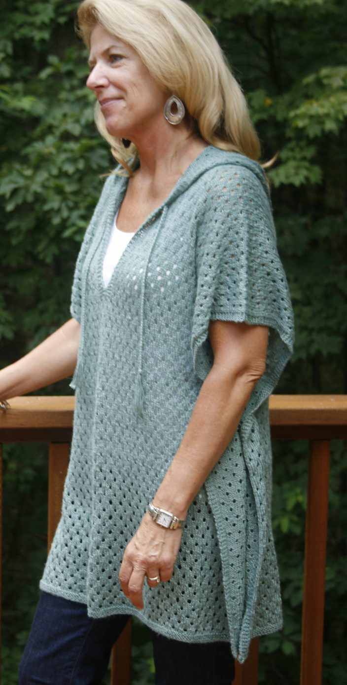 Free Knitting Pattern For A Poncho Poncho Knitting Patterns In The Loop Knitting