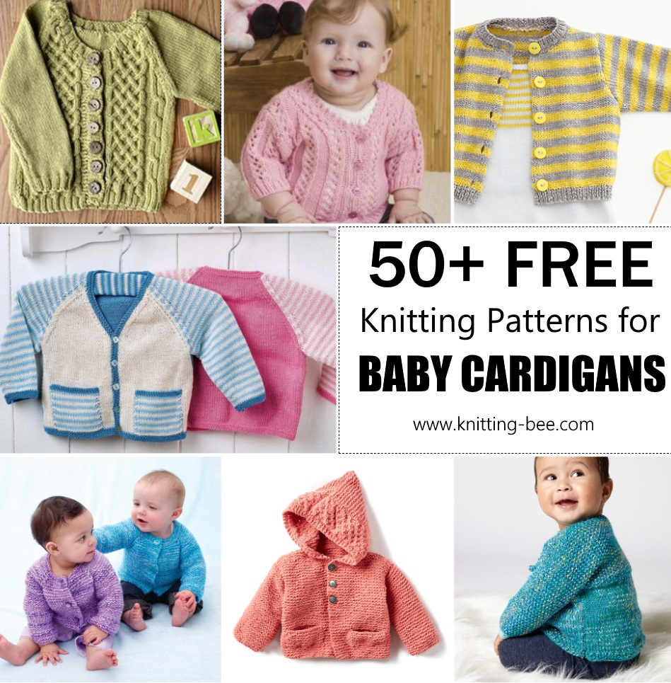 Free Knitting Pattern Sweater Free Knitting Pattern For Ba Cardigans