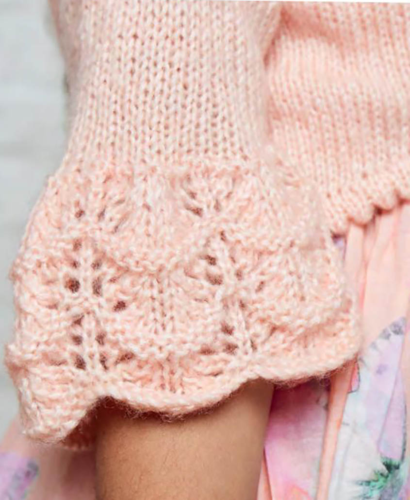 Free Knitting Pattern Sweater Free Knitting Pattern Yoke Cardigan