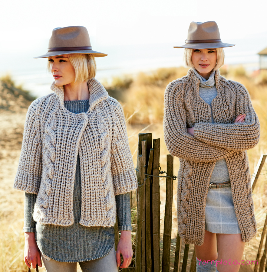 Free Knitting Pattern Sweater Knit A Cardigan With Rico Creative Twist Free Pattern For