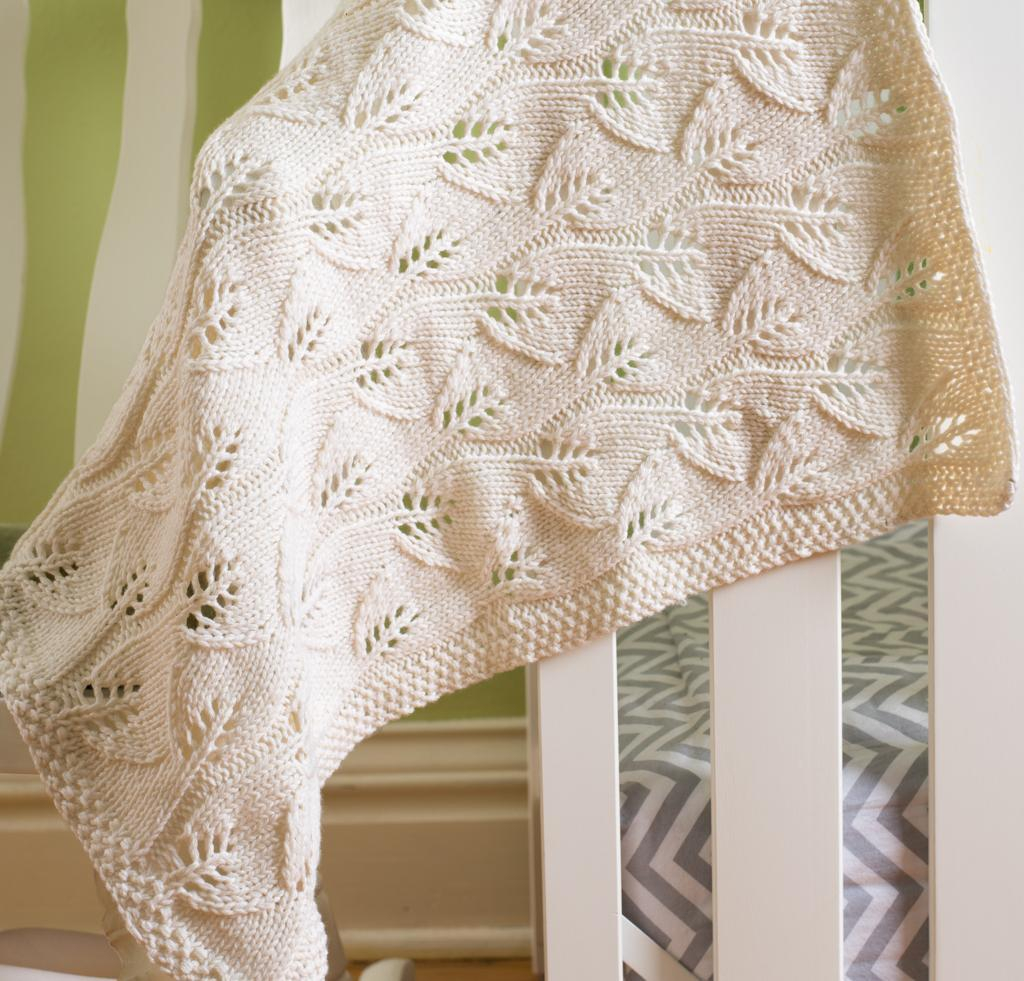 Free Knitting Patterns For Baby Blankets 8 Free Ba Blanket Knitting Patterns Craftsy