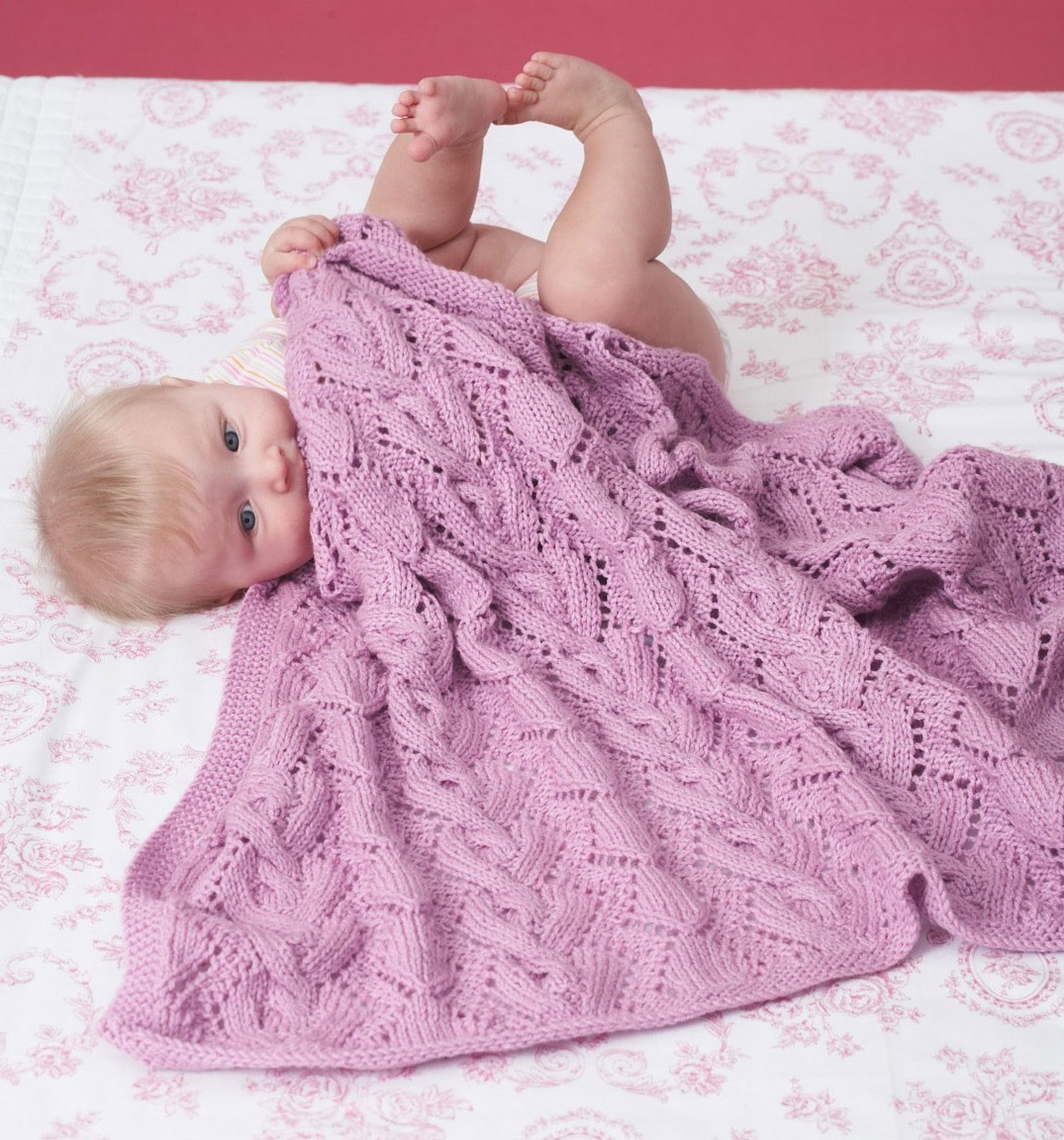 Free Knitting Patterns For Baby Blankets Awww Some Ba Blanket Knitting Patterns In The Loop Knitting