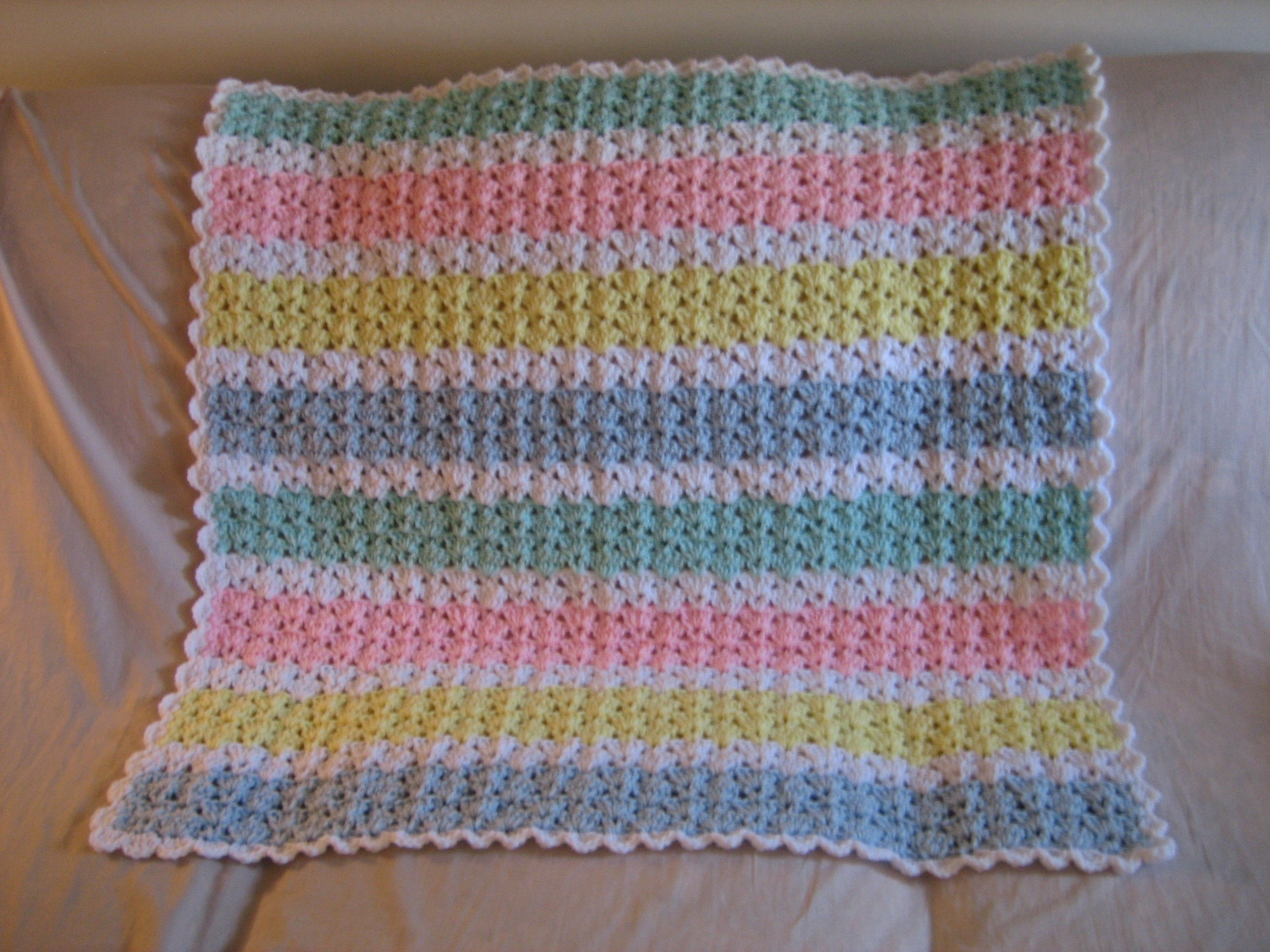 Free Knitting Patterns For Baby Blankets Blankets My Original Patterns Loves Many Cloths