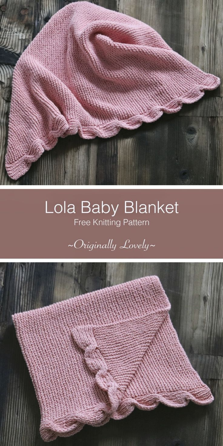 Free Knitting Patterns For Baby Blankets Lola Ba Blanket Knitting Pattern Thats It