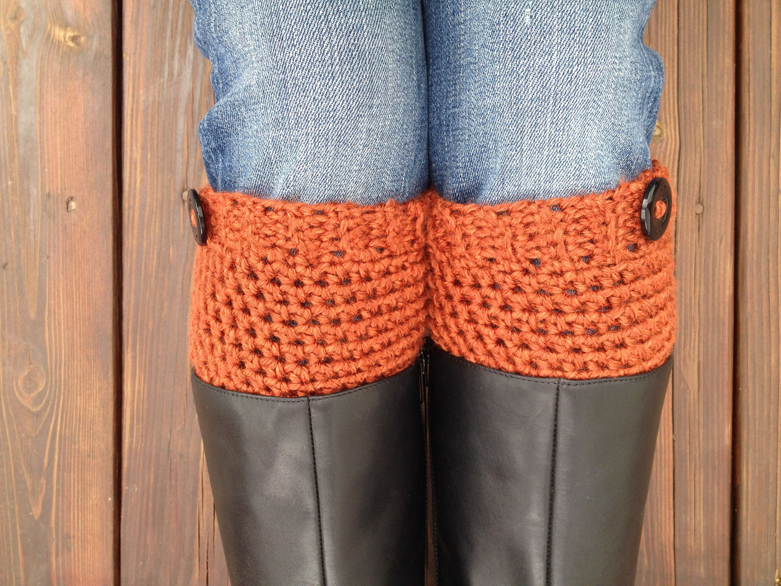 Free Knitting Patterns For Boot Toppers Crochet Boot Cuffs Or Boot Toppersfree Pattern Knit And Crochet