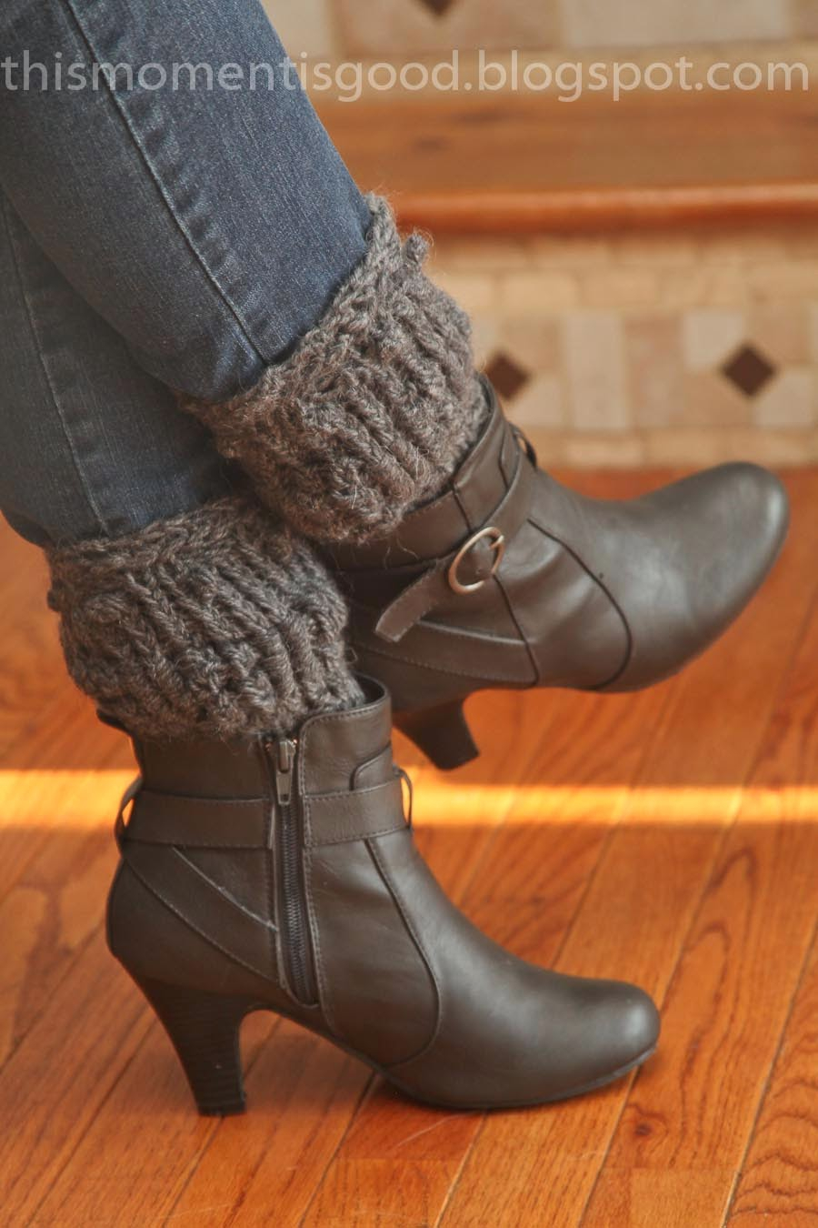 Free Knitting Patterns For Boot Toppers Loom Knit Textured Boot Topperscuffs Loom Knitting This Moment