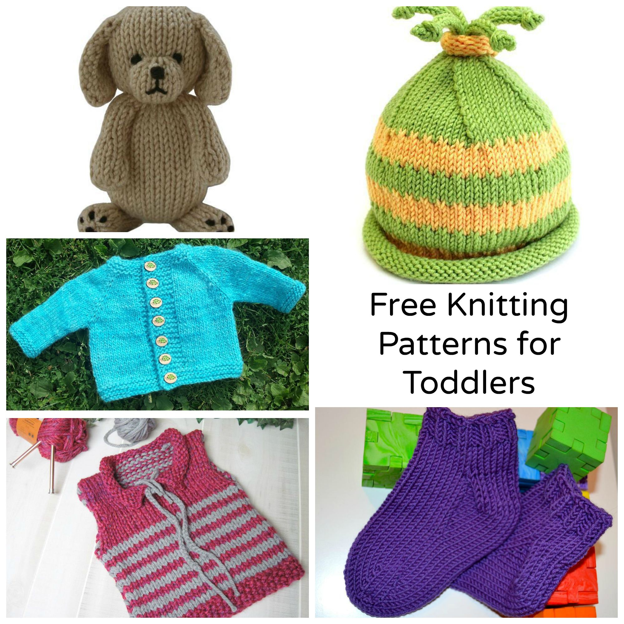 Free Knitting Patterns For Boys 7 Sweet Free Knitting Patterns For Toddlers Craftsy