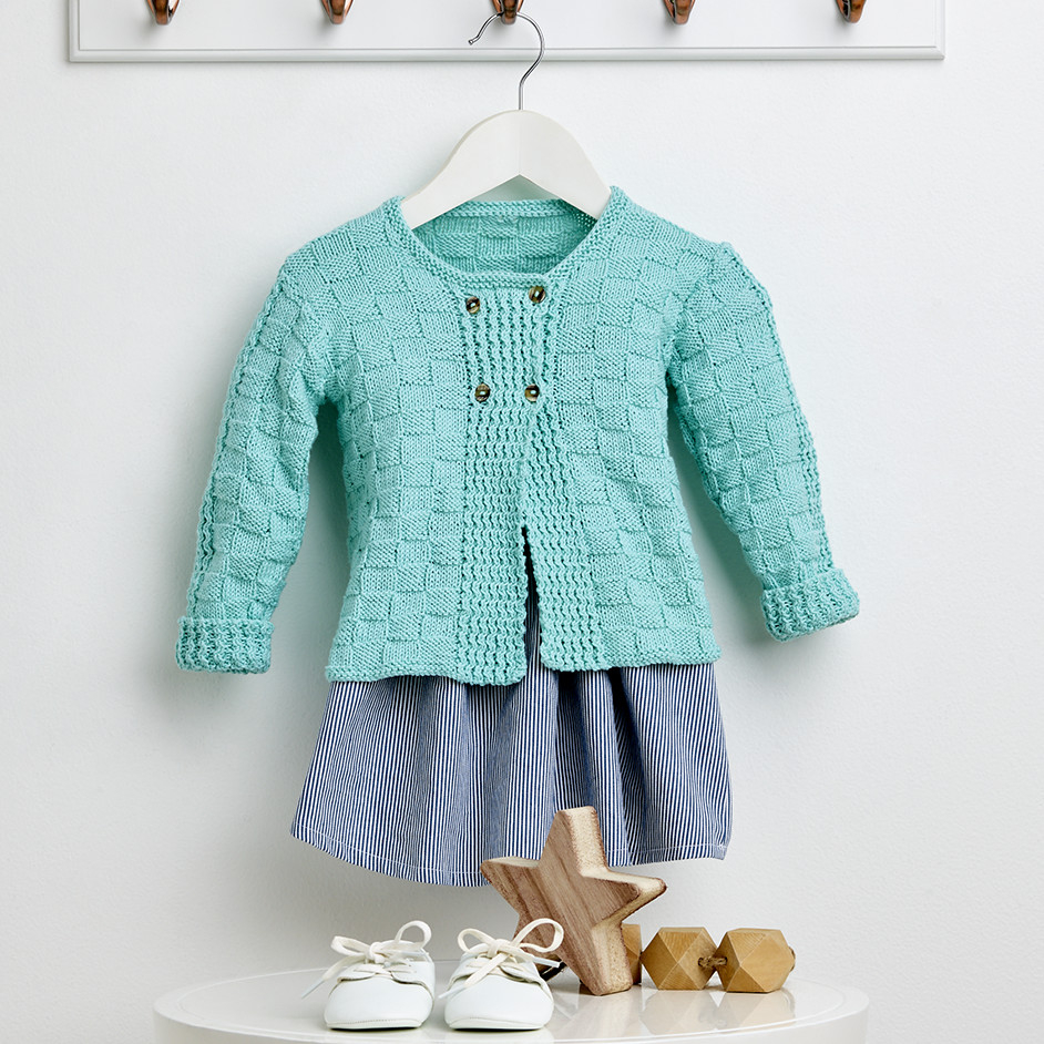 Free Knitting Patterns For Boys Basket Weave Ba Cardigan Free Knitting Pattern