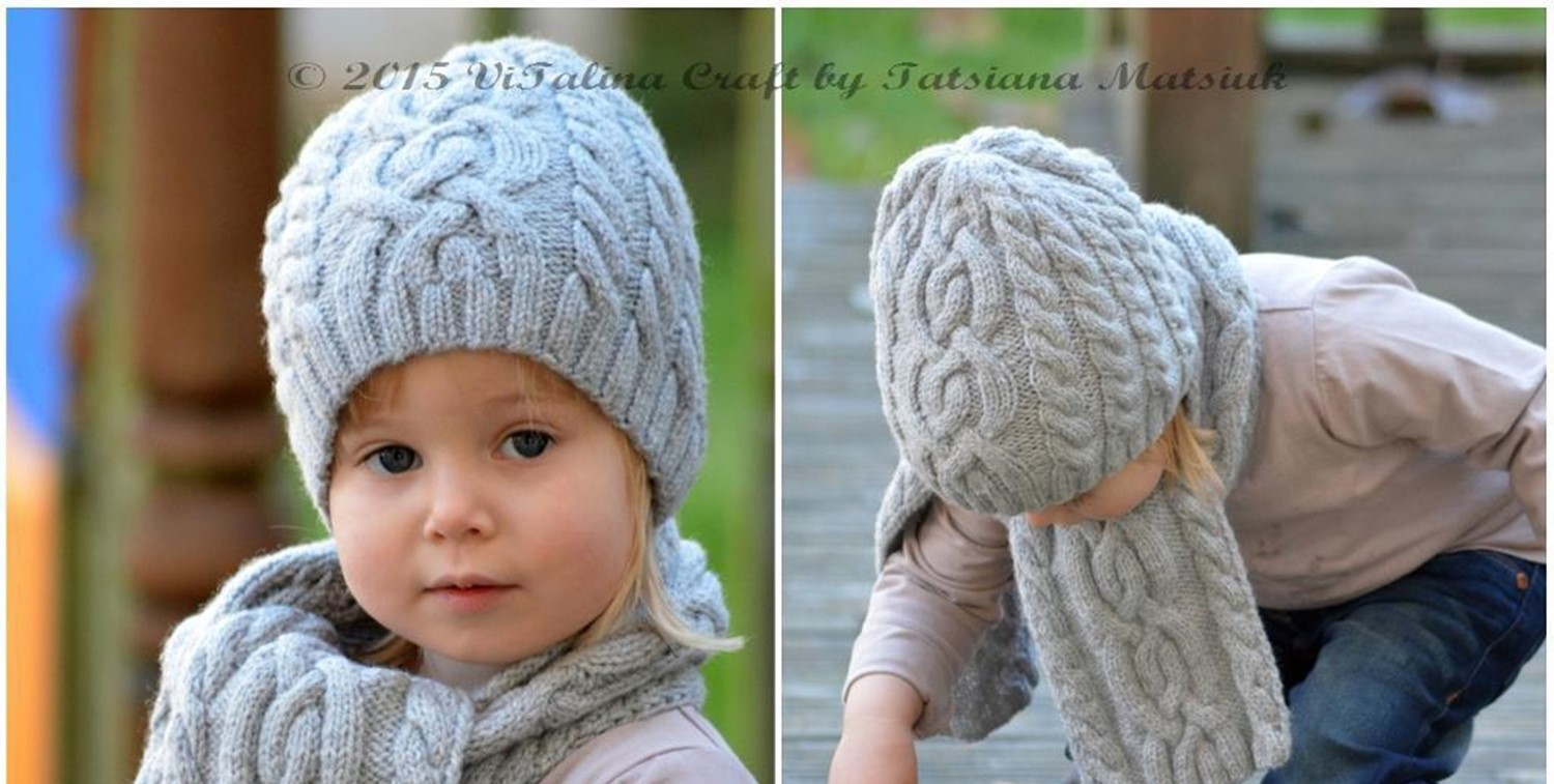 Free Knitting Patterns For Boys Knit Cloudlet Hat And Scarf Free Knitting Pattern