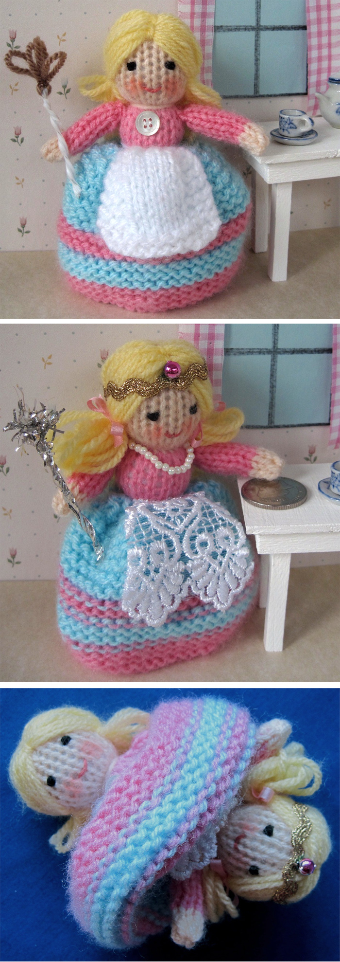 Free Knitting Patterns For Dolls Hats Fairy Tale And Storybook Knitting Patterns In The Loop Knitting