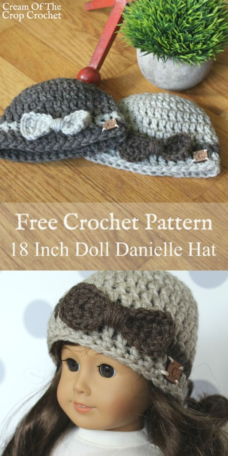 Free Knitting Patterns For Dolls Hats Free Crochet Patterns For 18 Inch Dolls 18 Inch Doll Danielle Hat
