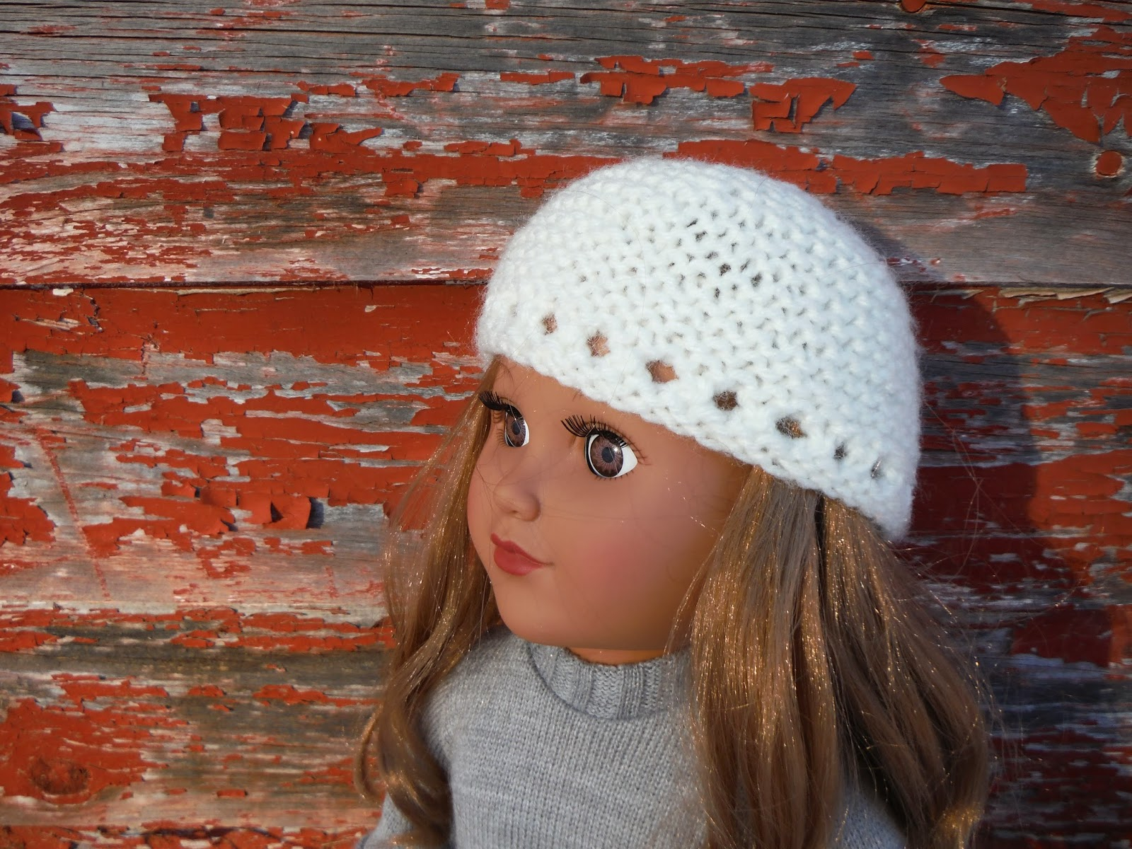 Free Knitting Patterns For Dolls Hats The Lil Hayseed Blog Free Knitting Pattern Garter Stitch Hat For